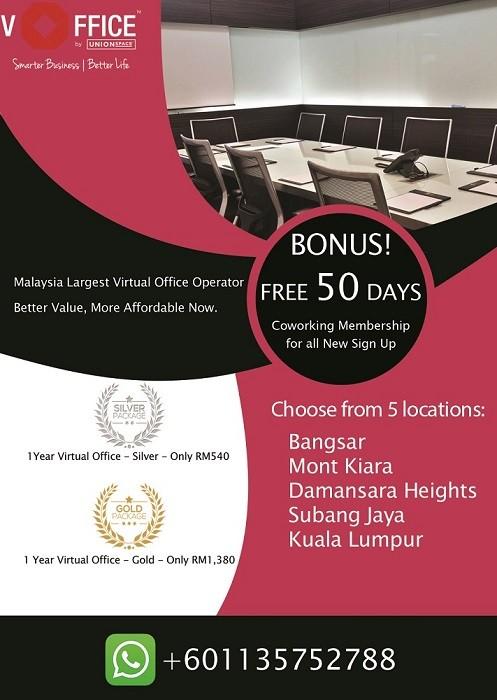 Virtual Office Malaysia - Call Answering, Address, MSC Status